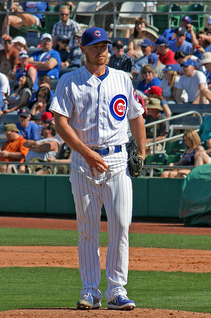 Chicago Cubs Pitcher (0358)