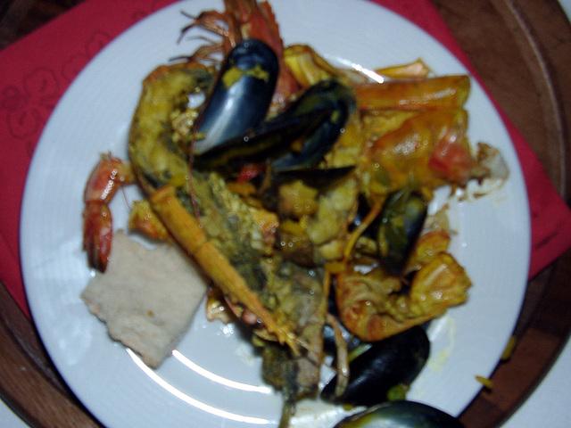 Weird seafood