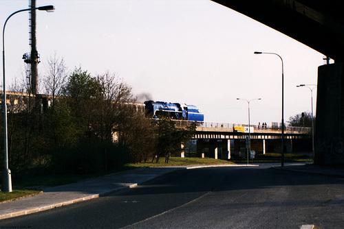 ex-CSD 498.022 Under Branicky Most, Picture 3, Branik, Prague, CZ, 2007