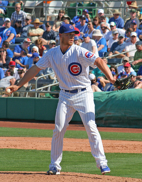 Chicago Cubs Pitcher (0365)