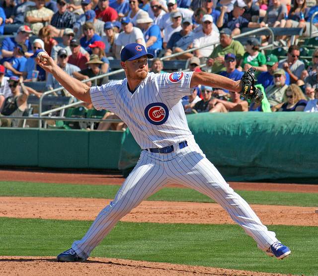 Chicago Cubs Pitcher (0366)