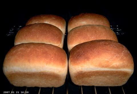 6 Turnipseed Sisters' White Loaves
