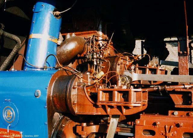 ex-CSD #498.022 Piston Valve Assembly, Nadrazi Branik, Branik, Prague, CZ, 2007