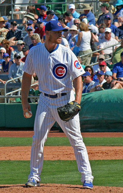 Chicago Cubs Pitcher (0372)