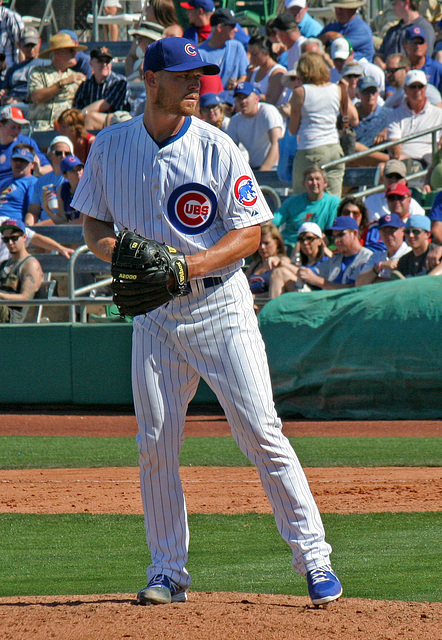 Chicago Cubs Pitcher (0373)