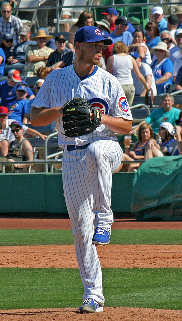Chicago Cubs Pitcher (0374)