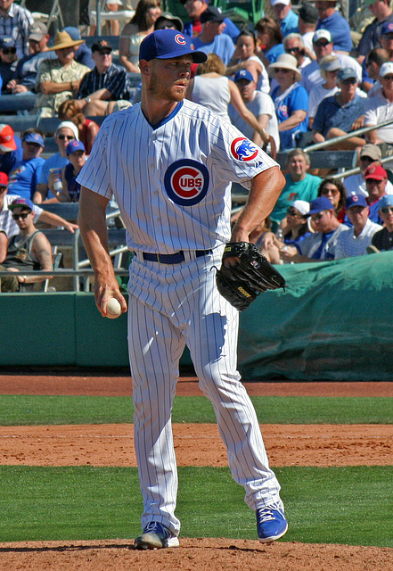 Chicago Cubs Pitcher (0376)