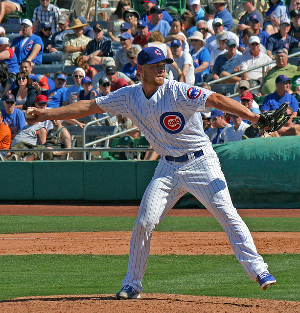 Chicago Cubs Pitcher (0377)