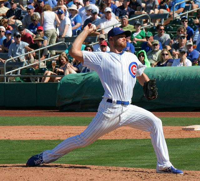 Chicago Cubs Pitcher (0378)