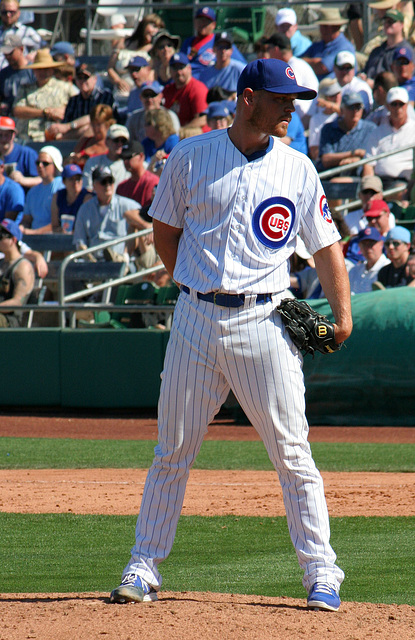 Chicago Cubs Pitcher (0391)