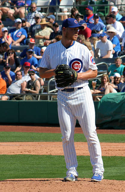 Chicago Cubs Pitcher (0392)