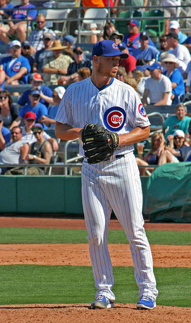 Chicago Cubs Pitcher (0393)