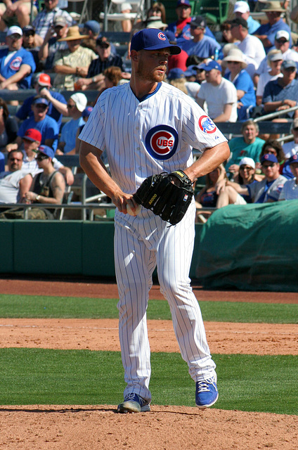Chicago Cubs Pitcher (0395)