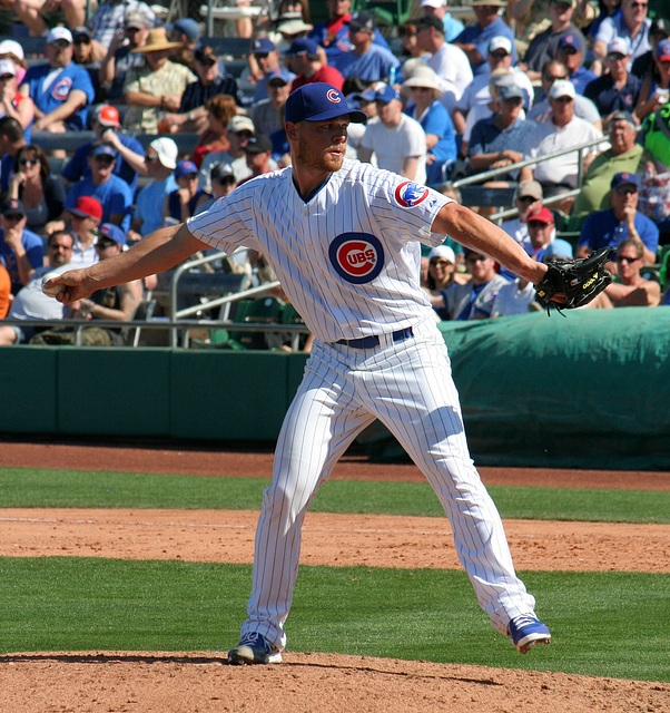 Chicago Cubs Pitcher (0396)