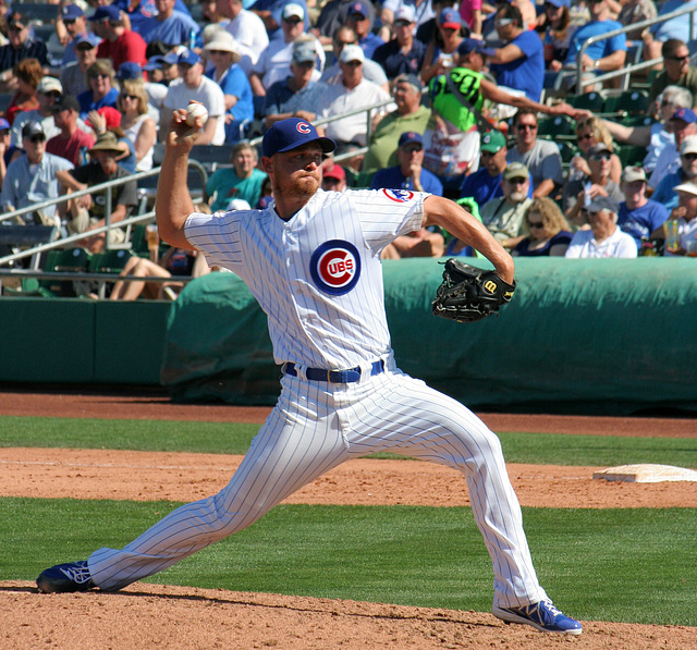 Chicago Cubs Pitcher (0397)