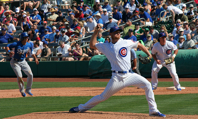 Chicago Cubs Pitcher (0402)