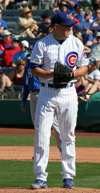 Chicago Cubs Pitcher (0570)
