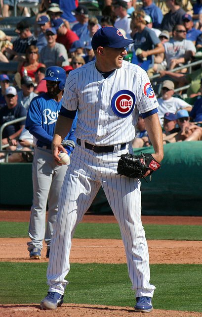 Chicago Cubs Pitcher (0571)
