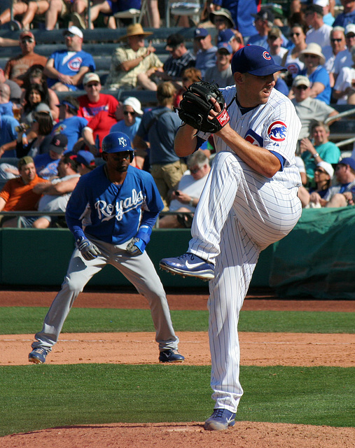 Chicago Cubs Pitcher (0573)