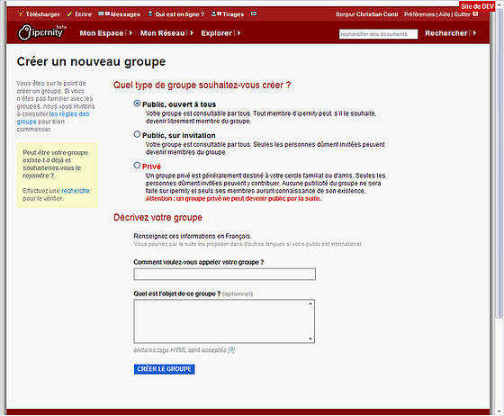 groups screenshot3