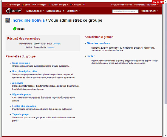 groups screenshot4