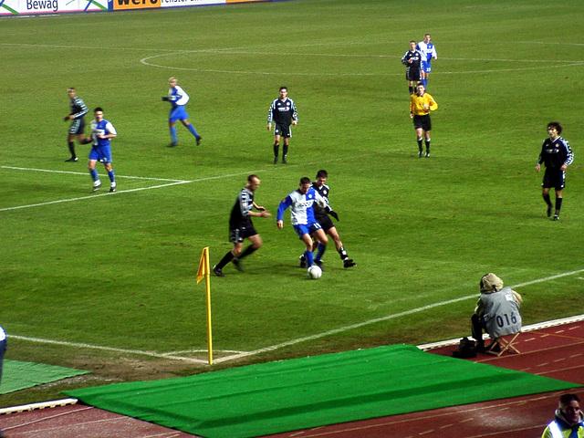 Hertha BSC Berlin - FC St. Pauli 2:2