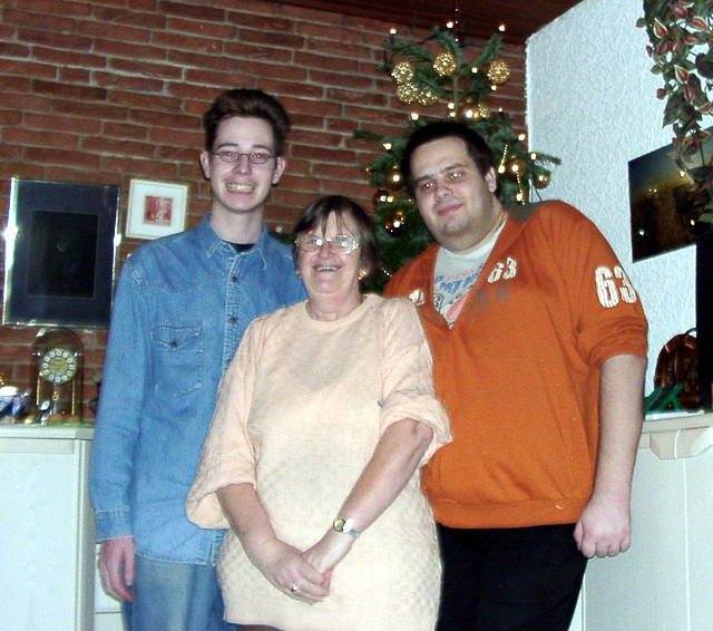 Pierre, grandma and me