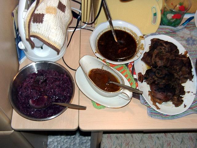 Foodplates for christmas-familydinner
