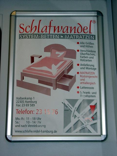"""Bettenhaus """"Schlafwandel"""" / Bedshop """"noctambulism"""""""
