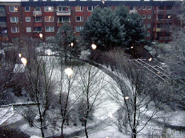 First snow of winter 2006/07