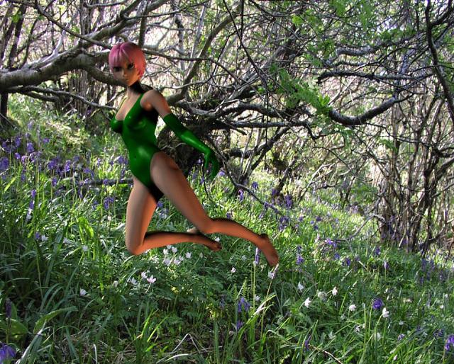 Dream: the guide in the grove