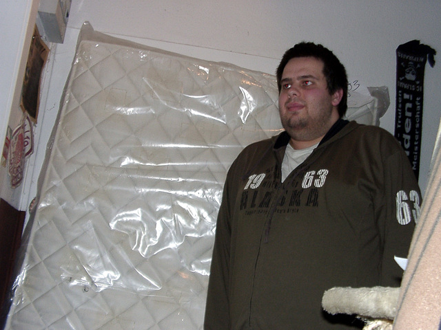 Day #019 - the new mattress arrived!