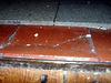 Stolperfalle und Fussaufschlitzer im Kuechenboden