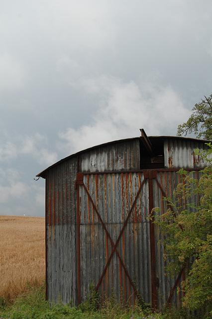 rusty barn