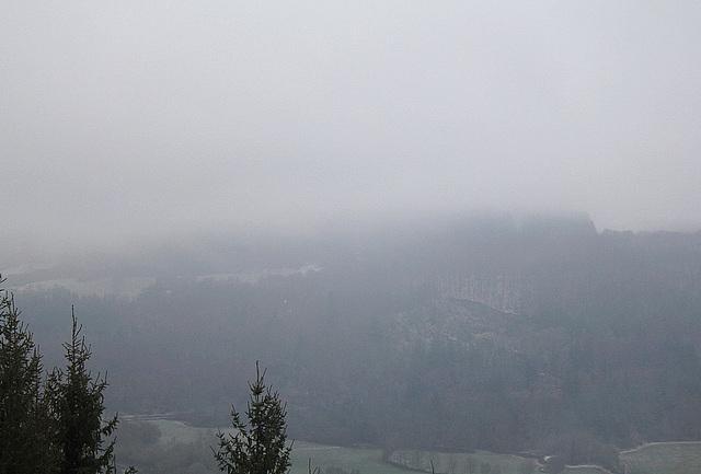 Le temps du jour : Brouillard et grésil