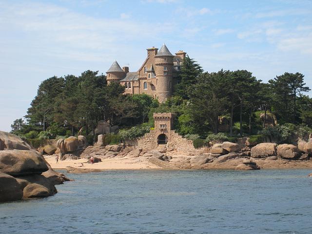 Le château de Ploumanach