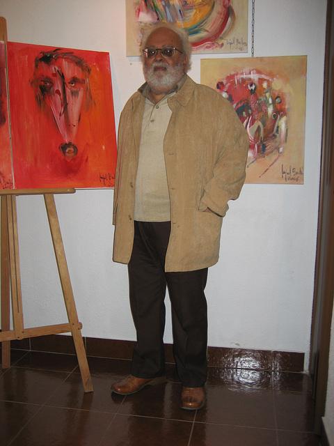 Espaço AmArte, painter Miguel Barbosa exhibition
