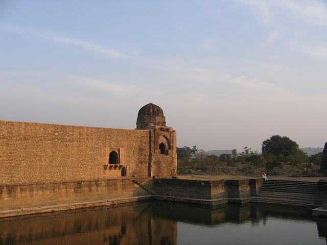 Pond at Mandu