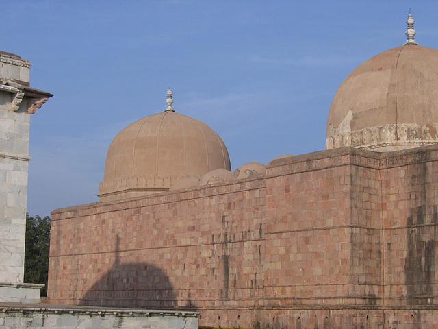 Side of the Great Mosque at Mandu