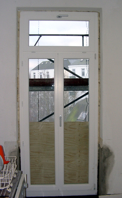 The new balcony - door
