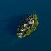 Insulo en Lago de Bled
