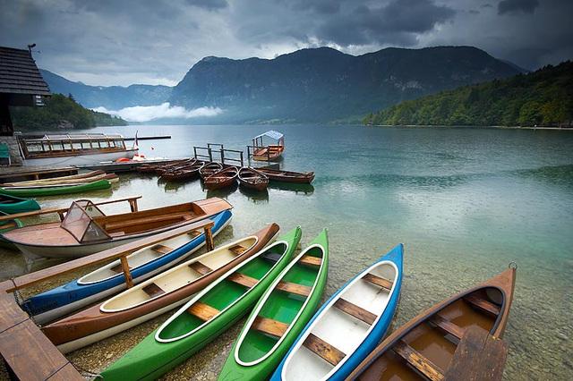 Lago de Bohinj 2