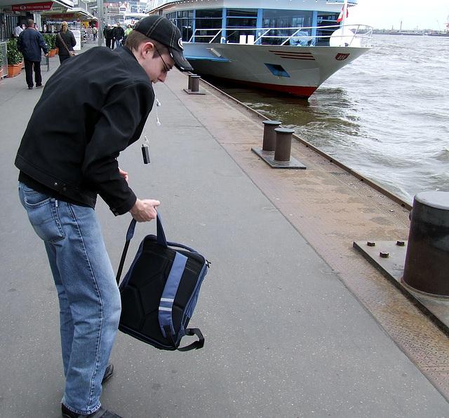 Pierre, traveling