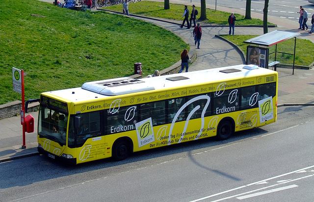 Bus of local public transport