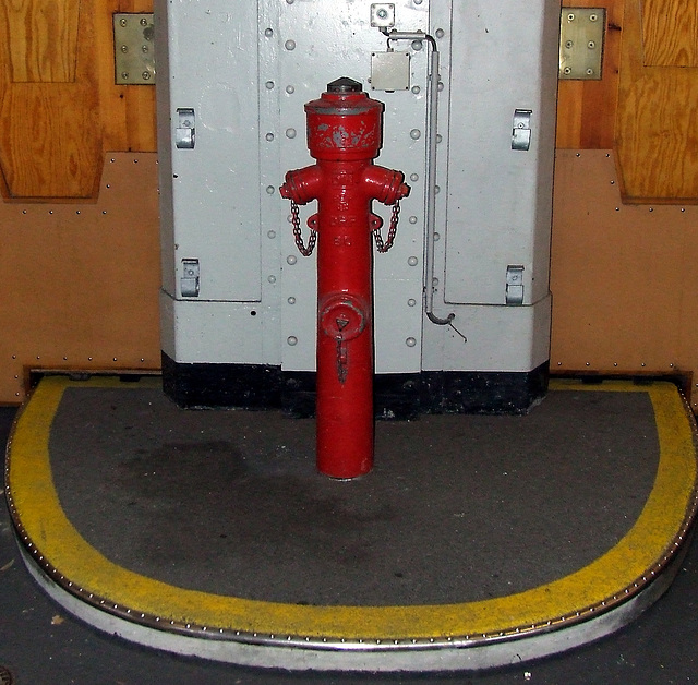 Hydrant, Alter Elbtunnel