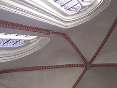 gemauerte Gewölbedecke im sog. Dom von Bardowick