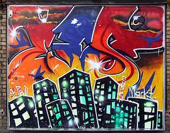 Supermarket-grafitti