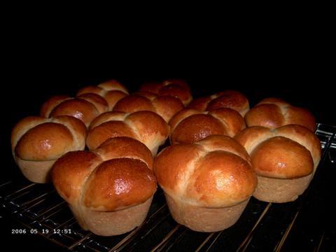 Paezinhos de Batata Doce (Brasilianische Kartoffelbrötchen)
