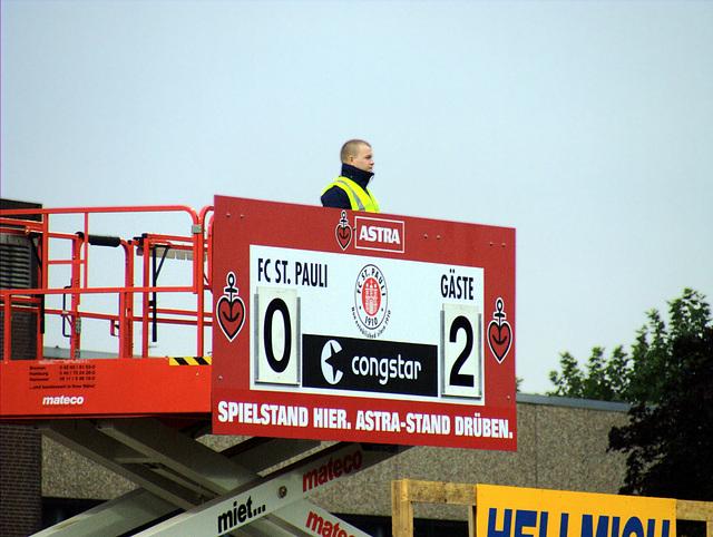 FC St. Pauli - 1. FC Köln 0:2