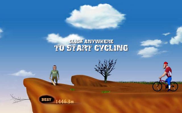 Schlag den Radfahrer